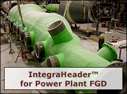 IntegraHeader for Power Plant FGD