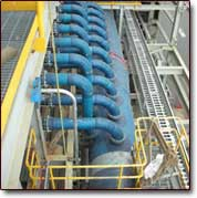 Fiberglass (FRP) pipe industrial applications