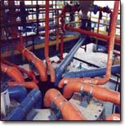 FRP pipe industrial applications